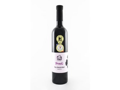 Pereg, Víno z čiernych ríbezlí