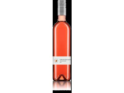 Karpatská perla, Cabernet Sauvignon, ružové polosladké 0,75 l