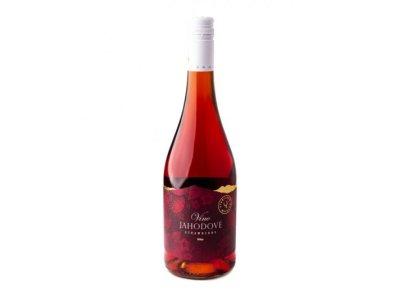 Miluron, Jahodové víno 0,75 l