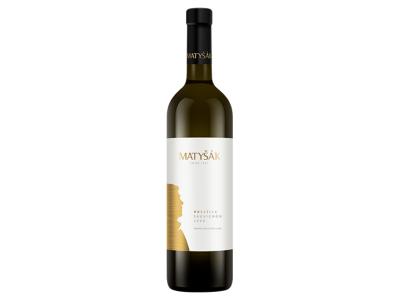 Matyšák, PRESTIGE Sauvignon, biele suché 0,75 l