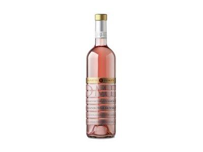 Pomfy, Frankovka modrá rosé, ružové suché 0,75 l
