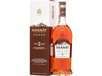 Ararat 5 ročný 40 % 0,7 l
