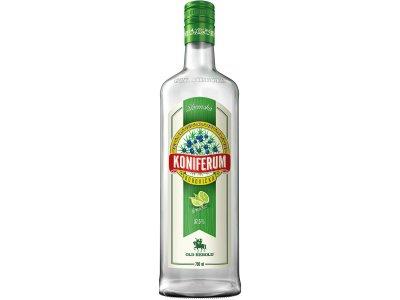 Koniferum Borovička s limetkou 37,5 % 0,7 l