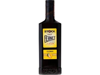 Fernet Stock Citrus 27 % 0,5 l