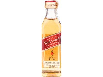 Johnnie Walker Red Label Mini 40 % 0,05 l